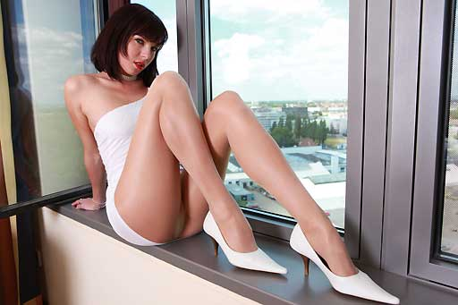 Nadja on the Windowsill